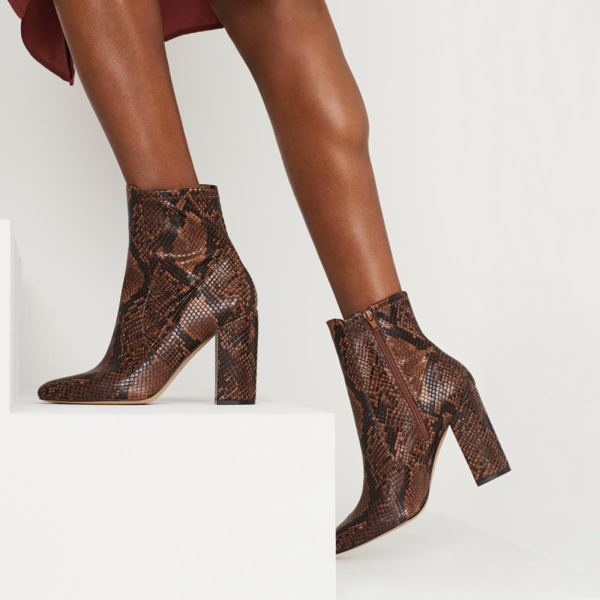 Aurella Brown Women's Boots | ALDO US