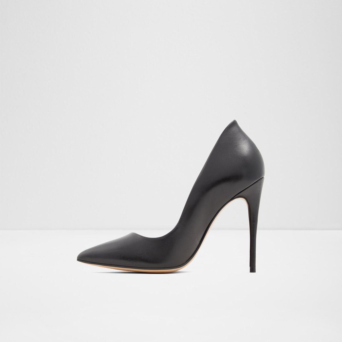 Cassedy Black Leather Smooth Women's