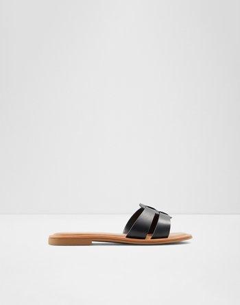알도 ALDO Slide sandal Ereswen,Black