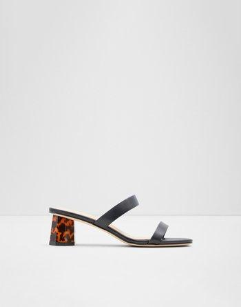 알도 ALDO High heel sandal - Block heel Etealia,Black