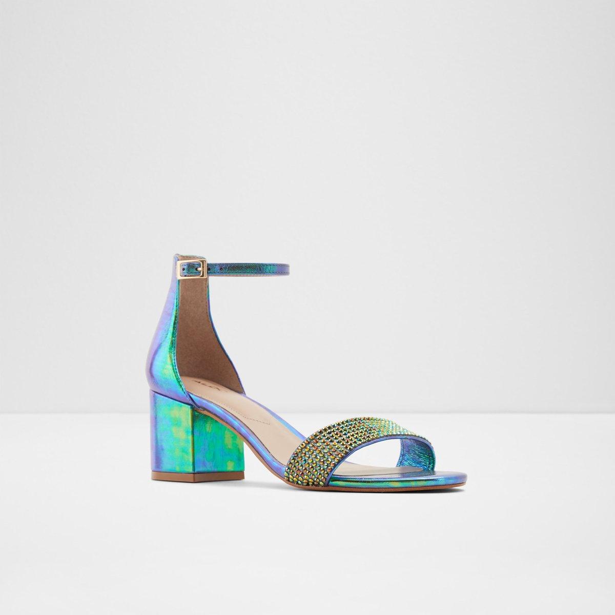 Gladoniel Green Women's Sandals   ALDO US
