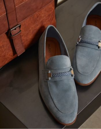 알도 ALDO Loafer Hattemseflex,Light Blue
