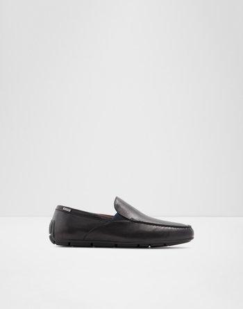 알도 드라이빙 로퍼  ALDO Driving shoe Leibelt,Black Leather Smooth