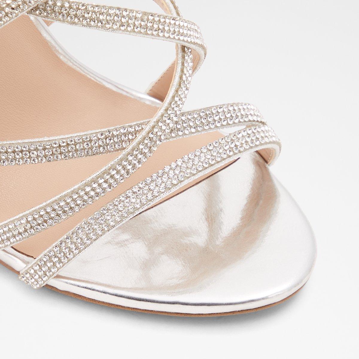 W Silber Meraerk Elegante SandalettenDeutschland Damen erdoCxB