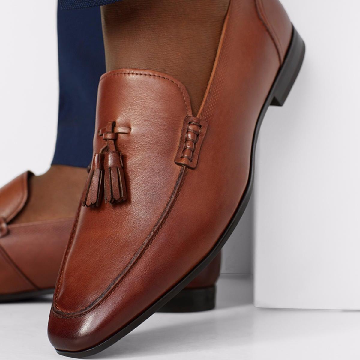 Mireadien Cognac Men S Loafers Aldoshoes Com Us