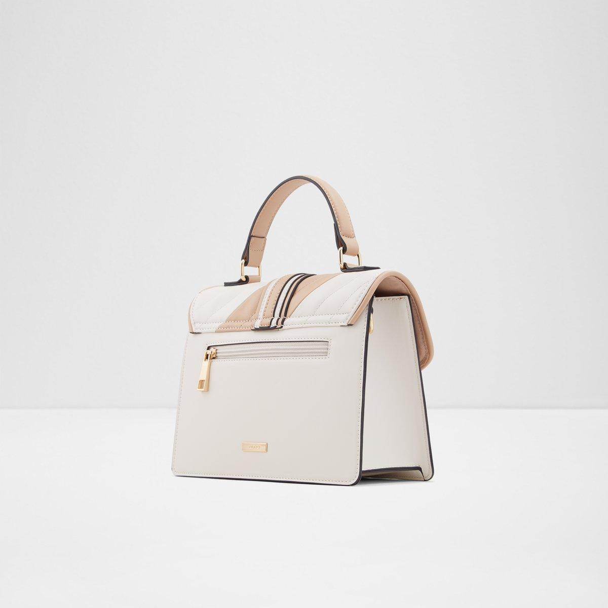 Nendadith Beige Women S Top Handle Bags
