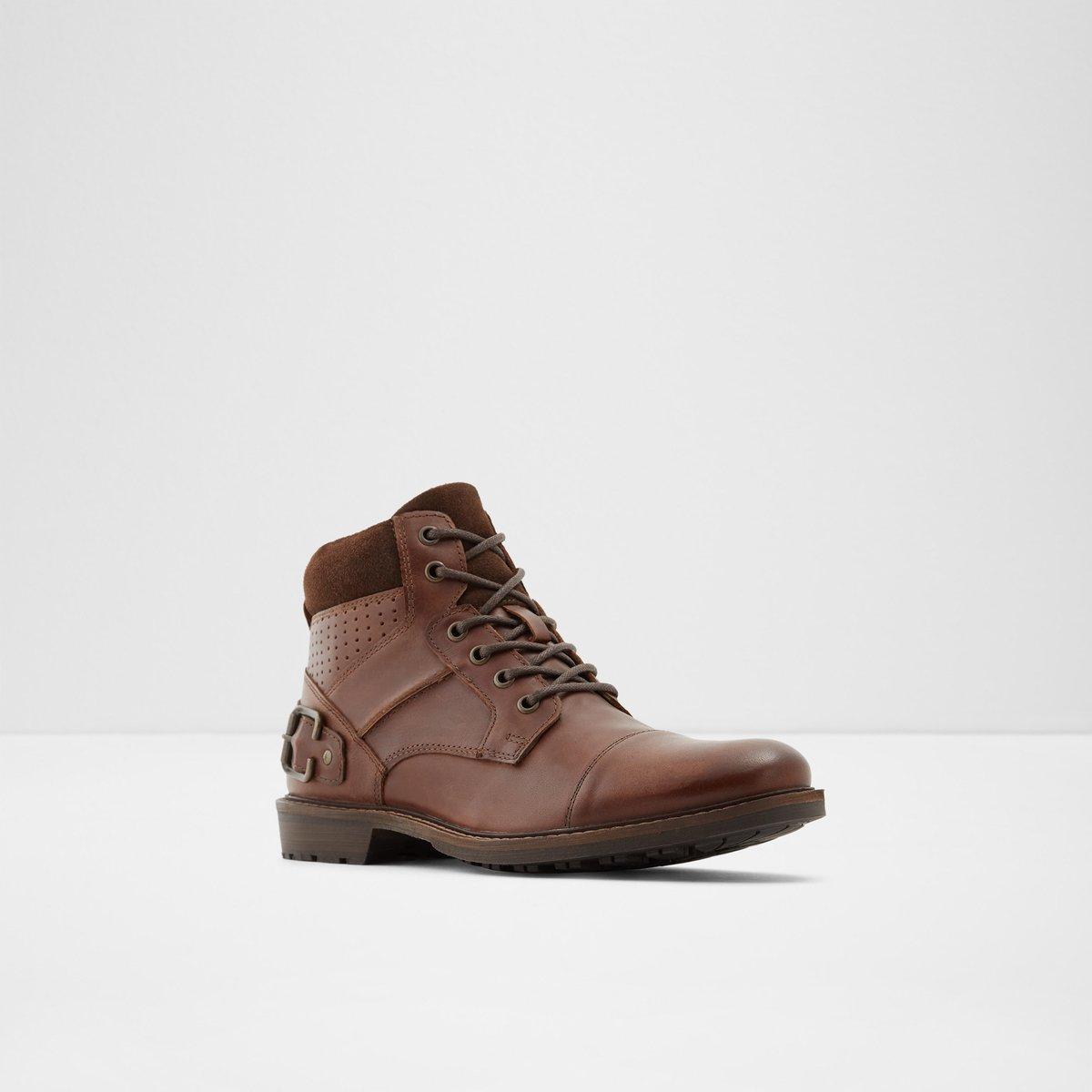 Oliadien Cognac Men S Boots Aldoshoes Com Us