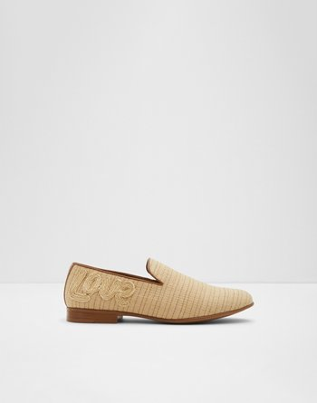 알도 ALDO Loafer Plateru,Light Beige