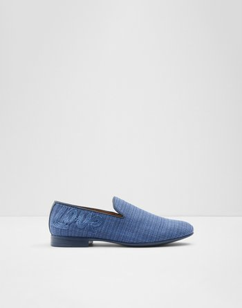 알도 ALDO Loafer Plateru,Navy