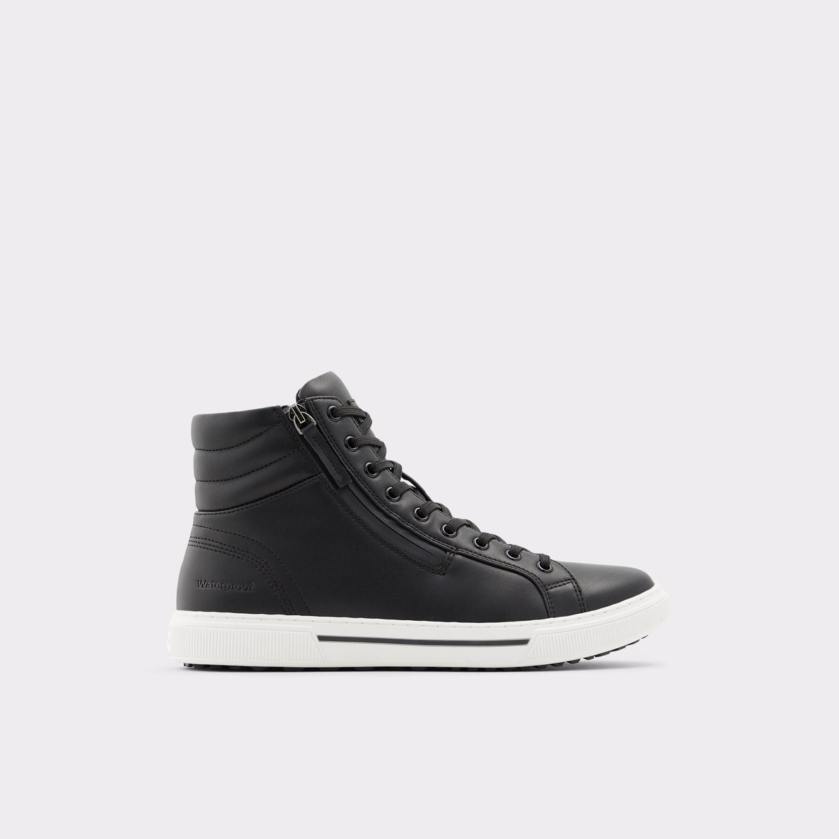 Preralith Black Synthetic Smooth Men's