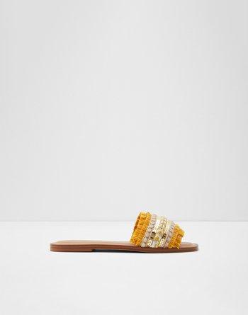 알도 ALDO Slide sandal Rockyy,Yellow