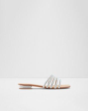 알도 ALDO Slide sandal 록시 Roxy,Silver