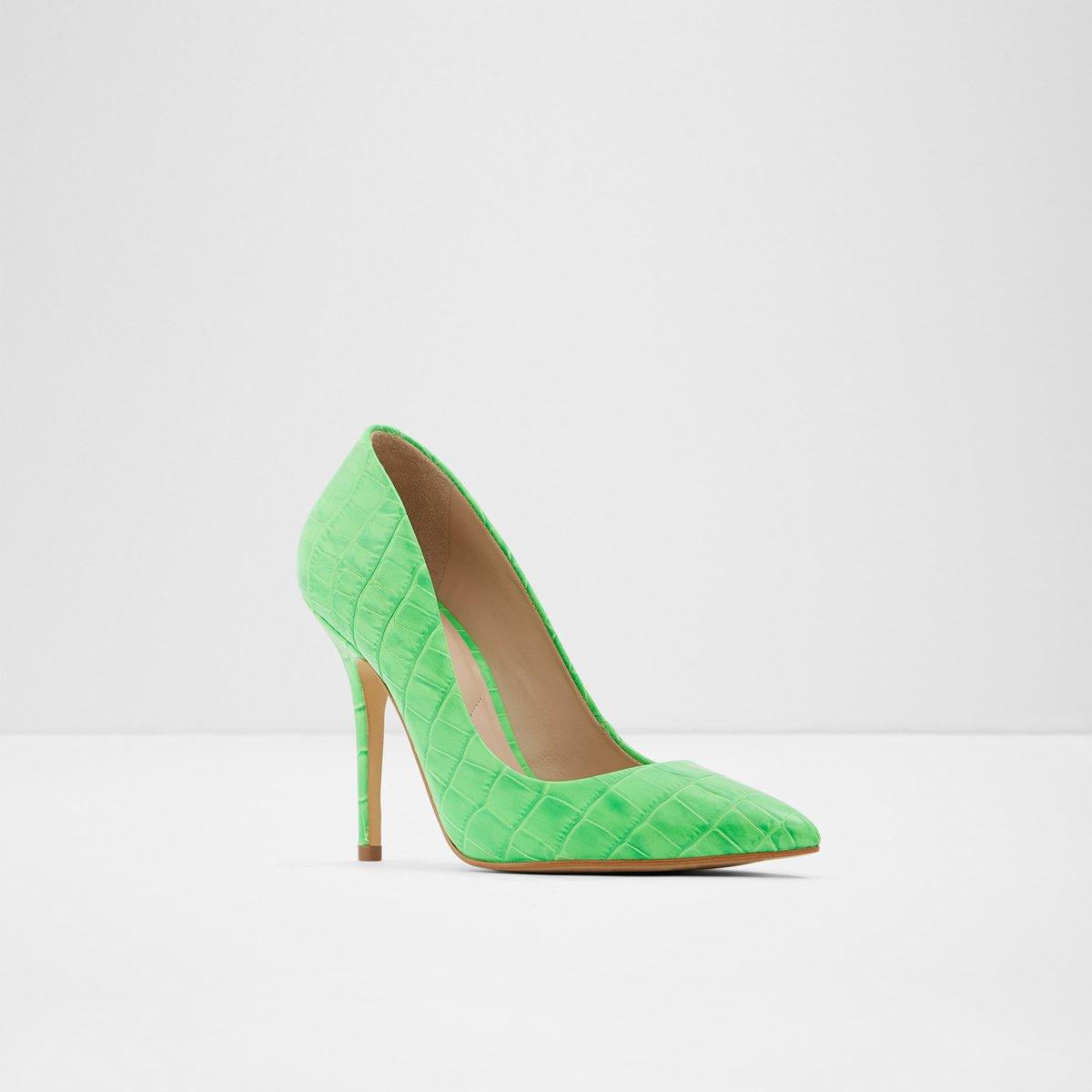 Sevielith Bright Green Women's Heels