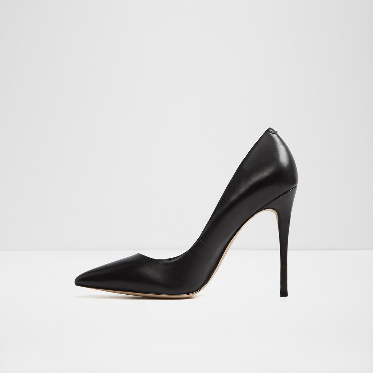 f2556b6003 Stessy Black Leather Women's Pumps | Aldoshoes.com US