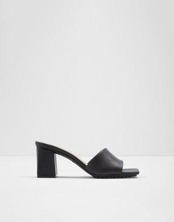알도 ALDO High heel sandal - Block heel Velalith,Black