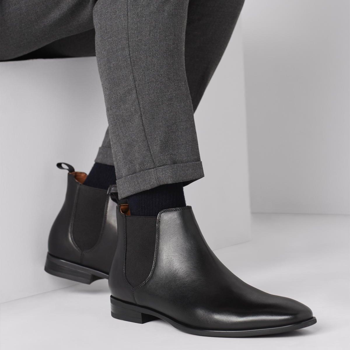 Vocien Black Men's Chelsea Boots | ALDO US